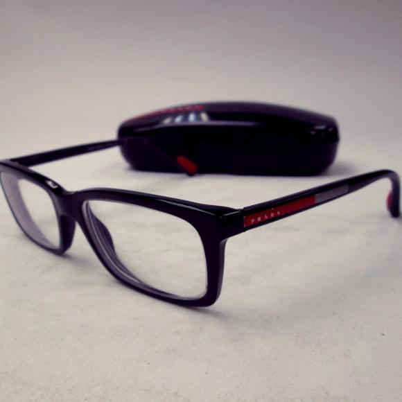 0c0ec0db150 Prada VP502C Men s Eyeglasses Italian ERM326. M 5b914da1c6177742938c62dd